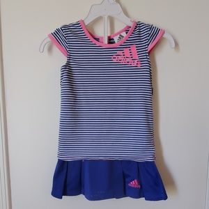 Adidas 2 PC Athletic Outfit Girls Size 3T